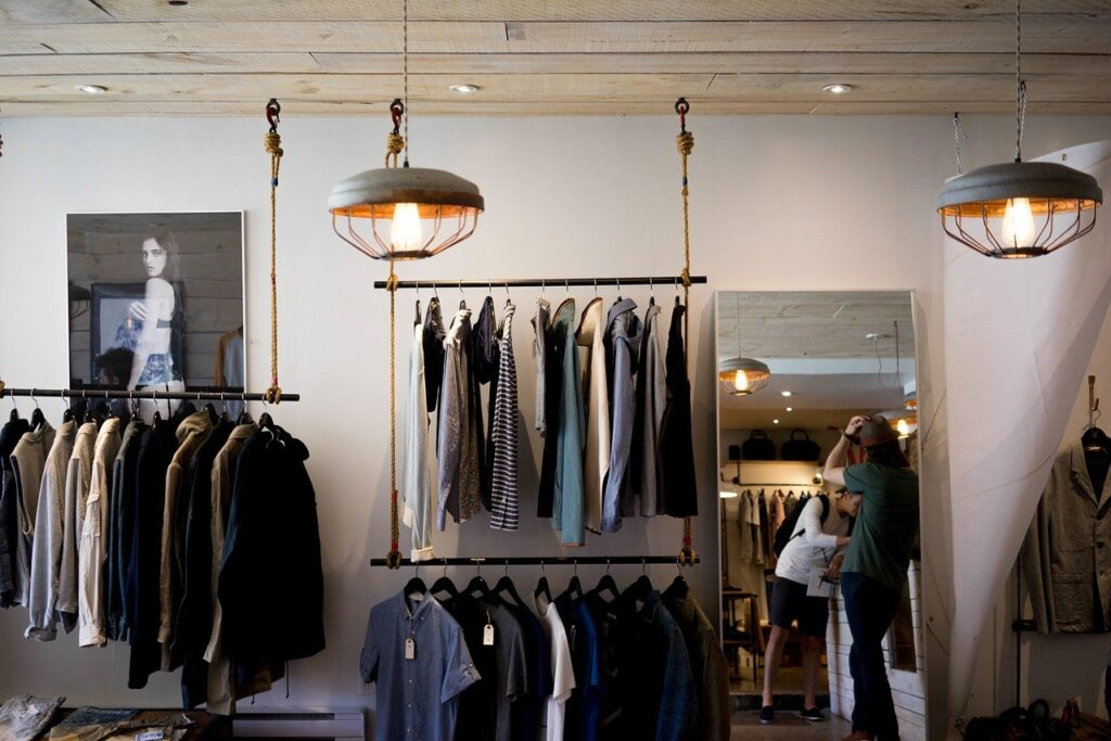clothing store, shop, boutique, thrifting