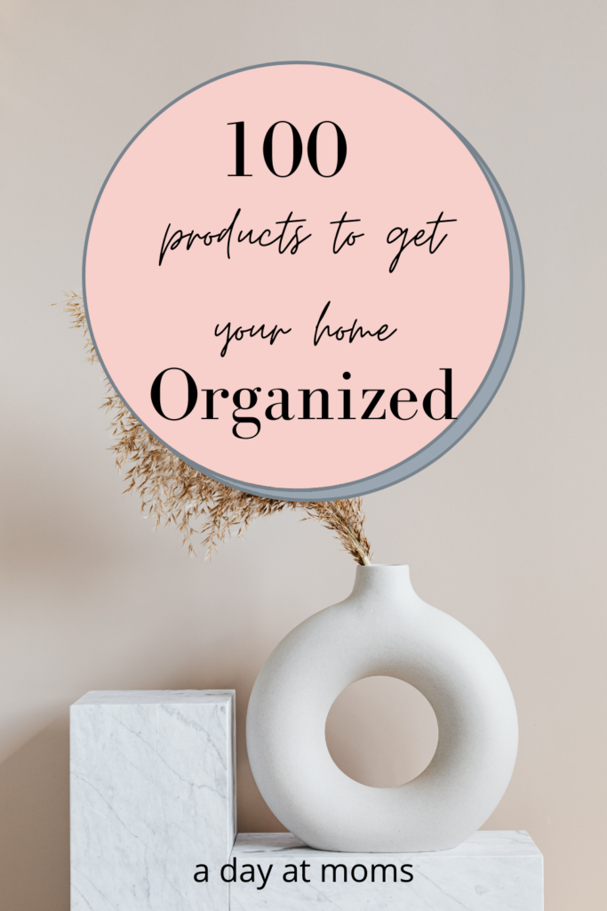 100 products to organize home